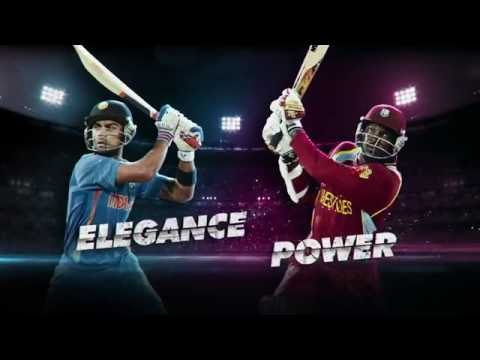India vs West Indies T20 Cricket 2016 Live & Exclusively on YuppTV