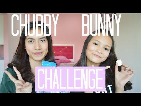 Chubby Bunny Challenge (Bahasa Indonesia) | Zahra and Paula