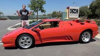 The Lamborghini Diablo VT Roadster Was a Crazy 1990s Supercar