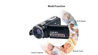 Camcorder Digital Camera Full HD Video Camera 1080p 24.0MP Night Vision Vlogging Camera...