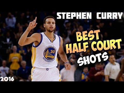 STEPHEN CURRY BEST HALF COURT SHOTS 2016/17