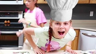 TEEN GIRLS COOK FOR FAMILY OF 10!!