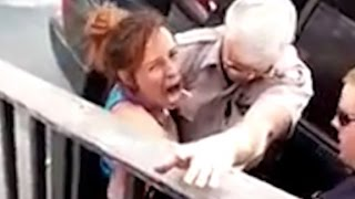 Arizona cop punches woman in face during arrest