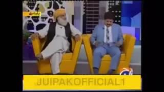 Hamid mir about Molana Fazul Rehman