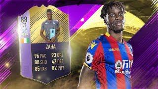 FIFA 18 POTM ZAHA REVIEW - 88 POTM WILFRIED ZAHA PLAYER REVIEW - FIFA 18 ULTIMATE TEAM
