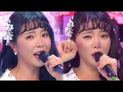 《Comeback Special》 HONG JIN YOUNG(홍진영) - GOOD BYE(잘가라) @인기가요 Inkigayo 20180218