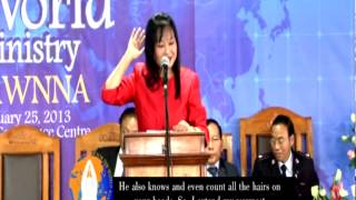 Sermon - Mrs. Lalremsiami - A vision to rebuild Churches in Wales