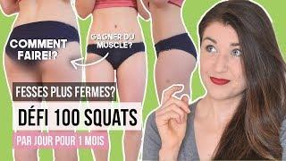 Défi 100 squats par jours - Cuisses plus fermes & perte de poids? | AVIS NUTRITIONNISTE DÉFI SANTÉ