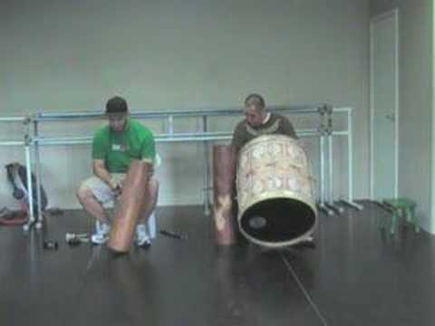 Tahitian Drumming: Tamali'is Practice 3