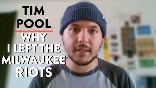 Interview with Journalist Who Left Milwaukee Due to Racial Violence (Tim Pool)