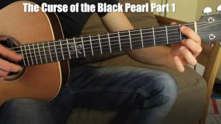 #1 Curse of the Black Pearl Guitar Lesson for Beginners (Pirates of the Caribbean)