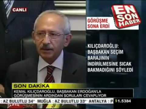 Kılıçdaroğlu Tayyip i karşısında görünce korkudan titredi çok komik