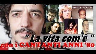 LA VITA COM'E' | Max Gazzè | nello stile dei Cantanti Italiani anni '80