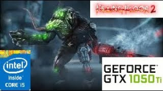 Killing Floor 2:GTX 1050 TI 4GB i5 4460