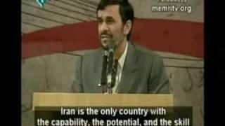 Ahmadinejad Funny speeches (Part 1)