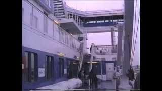Lübeck - mit der SILJA FESTIVAL in Richtung Ostsee (1993)