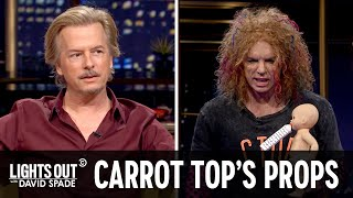 Carrot Top and His Prop Trunk Interrupt David Spade - Lights Out with David Spade