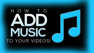 How To Add Music To Your Youtube Videos With Youtube Editor! (2016)