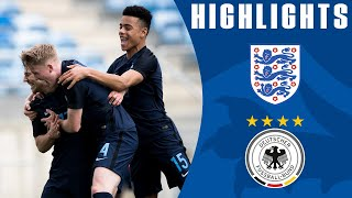 England U17 2 - 1 Germany | Official Highlights
