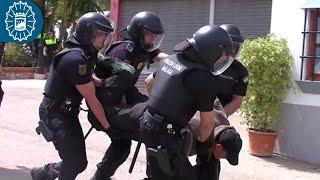 170521 - Policía Local Málaga - Día de la Policía Local Tivoli - Exhibición GOA