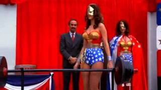 Wonder Woman impersonated by Double and  Chloroformed