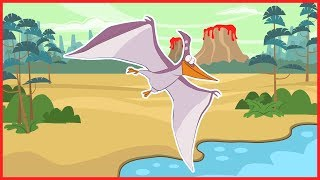 The Awesome Pterodactyl | Dinosaur Song For Kids | With Sing Along Lyrics