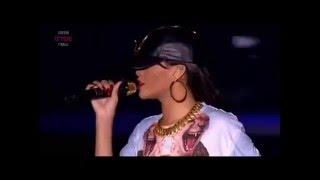 Rihanna - Talk that talk - feat. Jay-Z live at Hackney