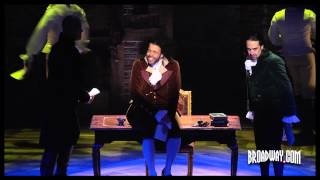 Video of HAMILTON, the new musical about Alexander Hamilton by Lin-Manuel Miranda at Public Theater