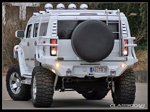 Hummer H2 Minotaurus Supercharger MONSTER TRUCK 6 inch Fabtech 38x15.50x20 Rockstar