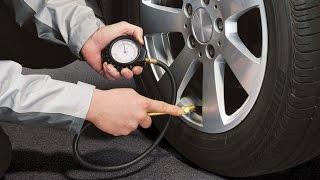 How To Check Tyre Pressure & Inflate Tires - آموزش تنظیم باد لاستیک های ماشین