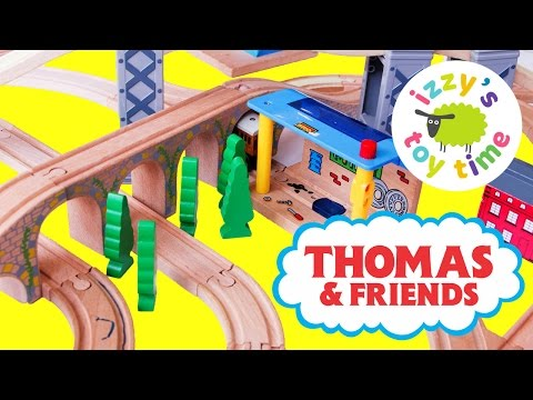 Thomas and Friends Wooden Play Table Thomas Train Tenders Fun Toy Trains for Kids and Family