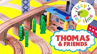 Thomas and Friends Wooden Play Table | Thomas Train Tenders | Fun Toy Trains for Kids and Family