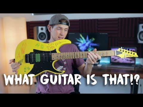What Guitar Is That? Ibanez RG350M 2009 CUSTOM MODEL