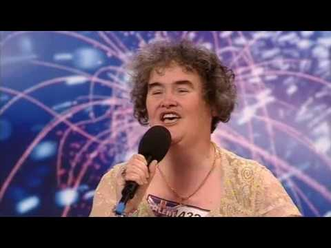 Susan Boyle s First Audition I Dreamed a Dream Britain s Got Talent 2009