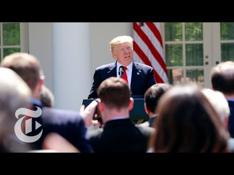 President Donald Trump On Paris Climate Accord Withdrawal (Full) | The New York Times