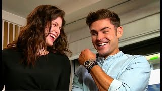 Zac Efron Shows Deep Affection for Alexandra Daddario. Is It Mutual?