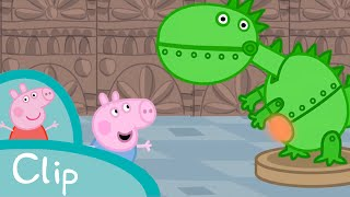 Peppa Pig - George visits the dinosaur museum (clip)