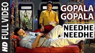 Needhe Needhe Full Video Song || Gopala Gopala || Daggubati Venkatesh, Pawan Kalyan, Shriya Saran