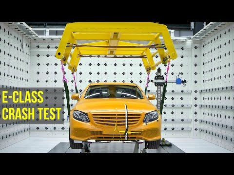 2017 Mercedes E-Class Crash Test - Better than 5 Stars
