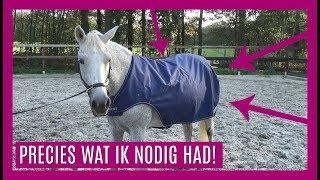Deze deken kan je TIJDENS de training gebruiken! | Bucas Walker Rug | snuitable