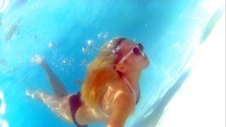 Underwater Testing Sports Action Camera W7 1080p HD Waterproof 30 meters with WiFi- SJ4000 Clone