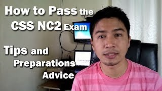 How to Pass the CSS NC2 Exam of TESDA | Tips & Preparations Advice