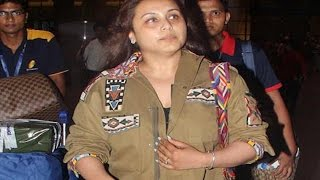 Rani Mukherjee's SHOCKING WEIGHT GAIN