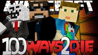 Minecraft 100 Ways To Die | Lemon and Lime Juice Challenge [1]