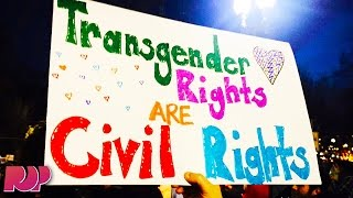 #ProtectTransKids Trends After Trump Rescinds Rules Protecting Trans Kids