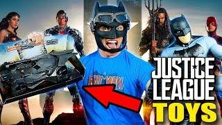 Unboxing New JUSTICE LEAGUE Batman Toys!