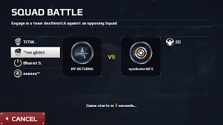 sb#79, IPF RETURNS vs SYNDICATE MC5,DAMN CLOSE MATCH,VOICE CHAT,CANALS,MC5 SQUAD BATTLE