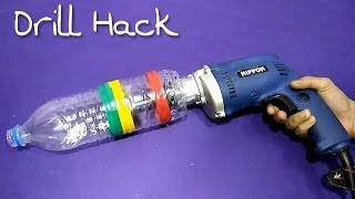 Make A Vacuum Cleaner From Drill Mchine / Drill Hack..