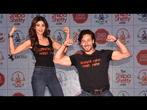 Xxx Mp4 Shilpa Shetty Tiger Shroff Launch Shilpa S New Fitness Website Full Video HD 3gp Sex