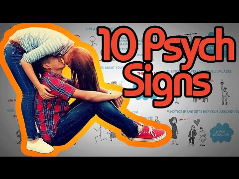 10 Psychological Signs a Girl Likes you How to tell if she's attracted